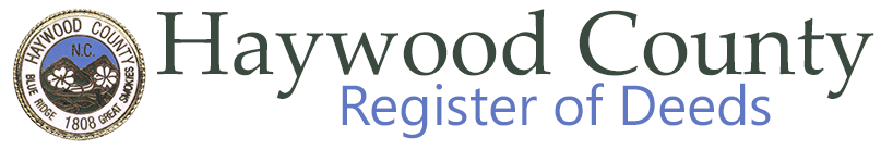 Haywood County Register of Deeds